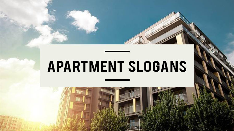 Apartment-Slogans