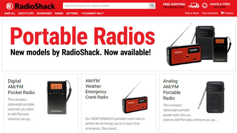 Stores Like Radio Shack